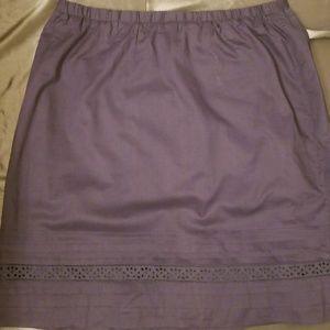NWT Eddie Bauer Skirt